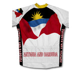 Antigua And Barbuda Flag Cycling Jersey for Men and Women