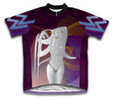 Aquarius Short Sleeve Cycling Jersey for Men and Women