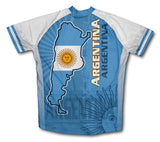 Argentina Short Sleeve Cycling Jersey for Men and Women
