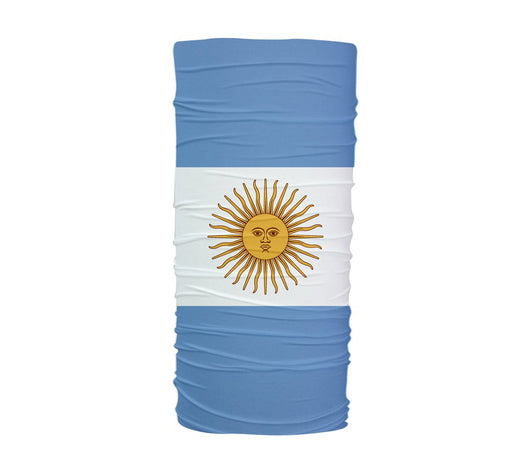 Argentina Flag Multifunctional UV Protection Headband