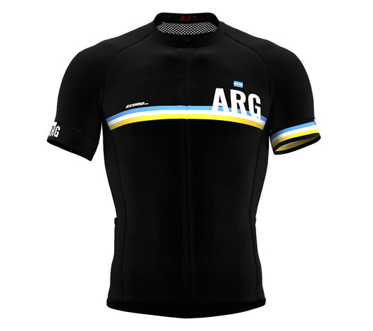 Argentina Black CODE Short Sleeve Cycling PRO Jersey for Men and WomenArgentina Black CODE Short Sleeve Cycling PRO Jersey for Men and Women