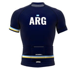 Argentina Blue CODE Short Sleeve Cycling PRO Jersey for Men and Women