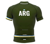 Argentina Green CODE Short Sleeve Cycling PRO Jersey for Men and Women