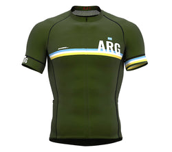 Argentina Green CODE Short Sleeve Cycling PRO Jersey for Men and WomenArgentina Green CODE Short Sleeve Cycling PRO Jersey for Men and Women