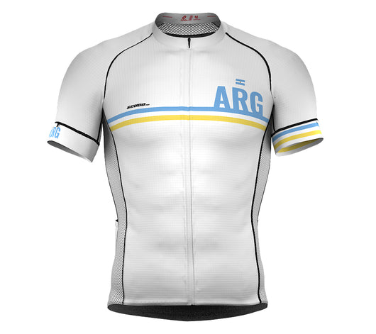 Argentina White CODE Short Sleeve Cycling PRO Jersey for Men and WomenArgentina White CODE Short Sleeve Cycling PRO Jersey for Men and Women