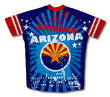 Arizona Short Sleeve Cycling Jersey for Men and Women