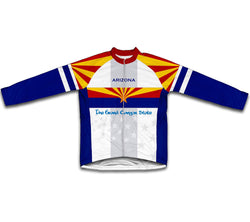 Arizona Flag Winter Thermal Cycling Jersey