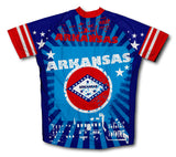 Arkansas Short Sleeve Cycling Jersey for Men and Women