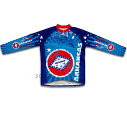 Arkansas Winter Thermal Cycling Jersey