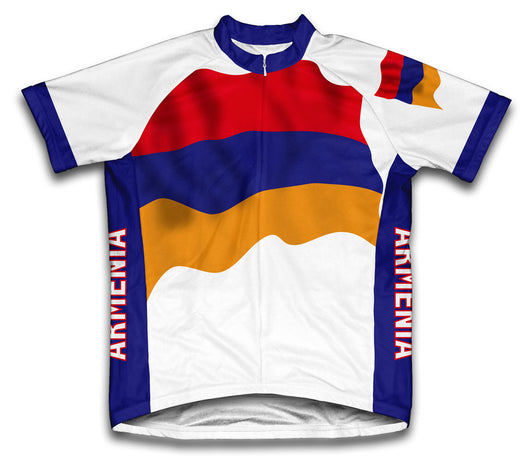 Armenia Flag Cycling Jersey for Men and Women