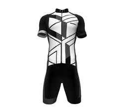 Armor White Scudopro Cycling Speedsuit for ManArmor White Scudopro Cycling Speedsuit for Man