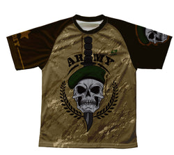 Army Skull Technical T-Shirt for Men and Women