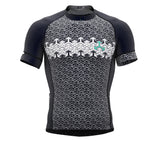 Arrows Gray Short Sleeve Cycling PRO Jersey