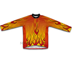 Ashes Red Winter Thermal Cycling Jersey