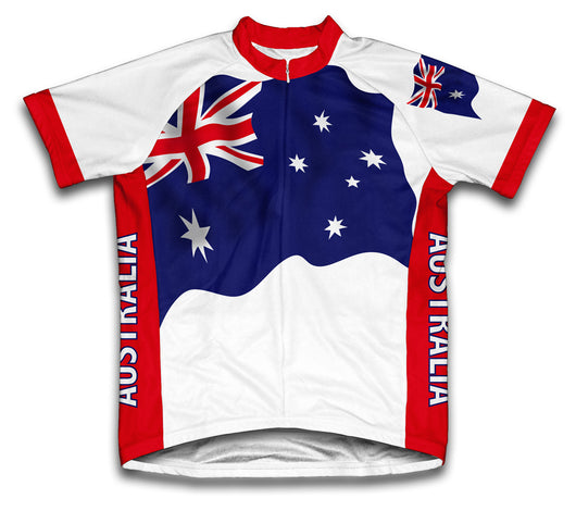 Australia Flag Cycling Jersey for Men and Women
