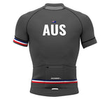 Australia Gray CODE Short Sleeve Cycling PRO Jersey for Men and Women