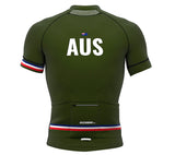 Australia Green CODE Short Sleeve Cycling PRO Jersey for Men and Women