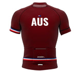 Australia Vine CODE Short Sleeve Cycling PRO Jersey for Men and Women