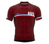 Australia Vine CODE Short Sleeve Cycling PRO Jersey for Men and WomenAustralia Vine CODE Short Sleeve Cycling PRO Jersey for Men and Women