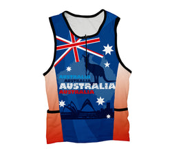 Australia Kangaroo Triathlon Top