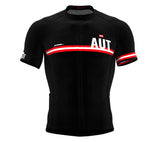 Austria Black CODE Short Sleeve Cycling PRO Jersey for Men and WomenAustria Black CODE Short Sleeve Cycling PRO Jersey for Men and Women