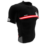 Austria Black CODE Short Sleeve Cycling PRO Jersey for Men and Women