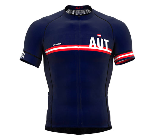 Austria Blue CODE Short Sleeve Cycling PRO Jersey for Men and WomenAustria Blue CODE Short Sleeve Cycling PRO Jersey for Men and Women