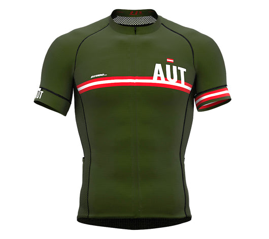 Austria Green CODE Short Sleeve Cycling PRO Jersey for Men and WomenAustria Green CODE Short Sleeve Cycling PRO Jersey for Men and Women