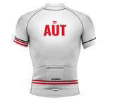 Austria White CODE Short Sleeve Cycling PRO Jersey for Men and Women