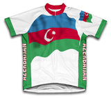 Azerbaijan Flag Cycling Jersey for Men and Women