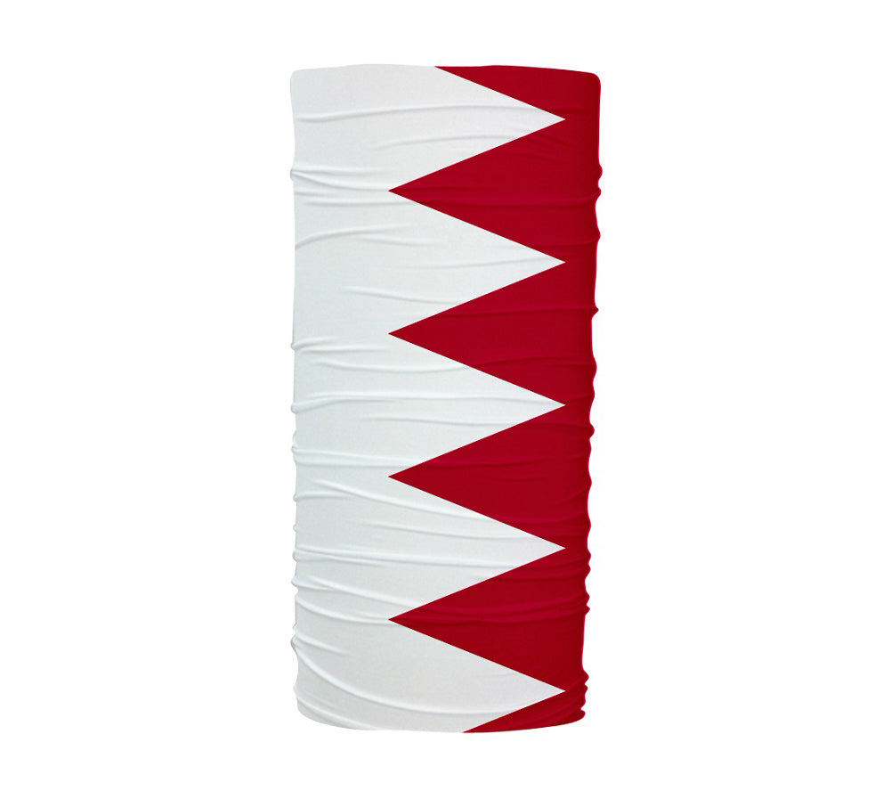 Bahrain Flag Multifunctional UV Protection Headband
