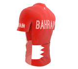 Bahrain  Full Zipper Bike Short Sleeve Cycling Jersey