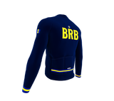 ScudoPro Pro Thermal Long Sleeve Cycling Jersey Country CODE Barbados | Men and Women