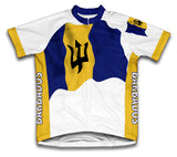 Barbados Flag Cycling Jersey for Men and Women