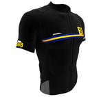 Barbados Black CODE Short Sleeve Cycling PRO Jersey for Men and Women