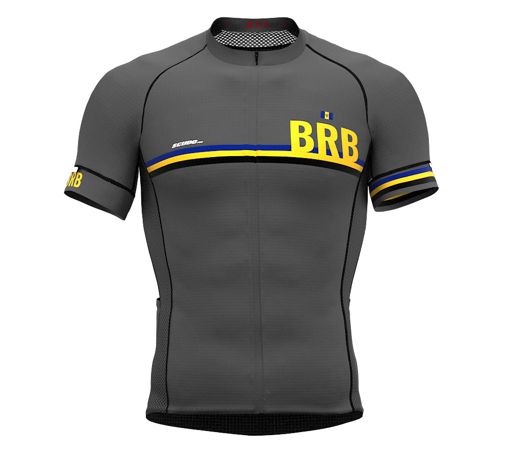 Barbados Gray CODE Short Sleeve Cycling PRO Jersey for Men and WomenBarbados Gray CODE Short Sleeve Cycling PRO Jersey for Men and Women