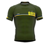 Barbados Green CODE Short Sleeve Cycling PRO Jersey for Men and WomenBarbados Green CODE Short Sleeve Cycling PRO Jersey for Men and Women