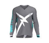 Bear Pedaling Power Gray Scudopro Cycling MTB BMX Jersey Long Sleeve for Men and WomanBear Pedaling Power Gray Scudopro Cycling MTB BMX Jersey Long Sleeve for Men and Woman
