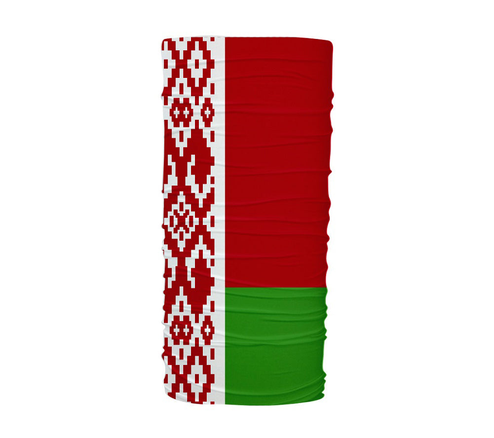 Belarus Flag Multifunctional UV Protection Headband