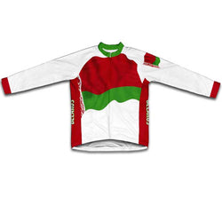 Belarus Flag Winter Thermal Cycling Jersey