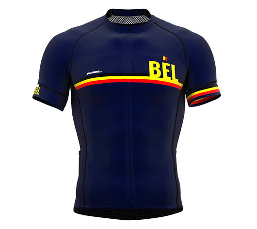 Belgium Blue CODE Short Sleeve Cycling PRO Jersey for Men and WomenBelgium Blue CODE Short Sleeve Cycling PRO Jersey for Men and Women