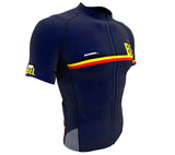 Belgium Blue CODE Short Sleeve Cycling PRO Jersey for Men and Women