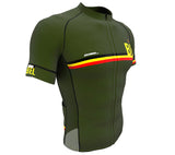 Belgium Green CODE Short Sleeve Cycling PRO Jersey for Men and Women