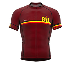 Belgium Vine CODE Short Sleeve Cycling PRO Jersey for Men and WomenBelgium Vine CODE Short Sleeve Cycling PRO Jersey for Men and Women