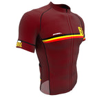 Belgium Vine CODE Short Sleeve Cycling PRO Jersey for Men and Women
