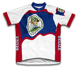 Belize Flag Cycling Jersey for Men and Women