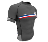 Belize Gray CODE Short Sleeve Cycling PRO Jersey for Men and Women