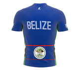 Belize  Full Zipper Bike Short Sleeve Cycling Jersey