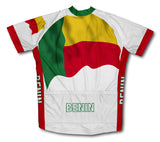 Benin Flag Cycling Jersey for Men and Women