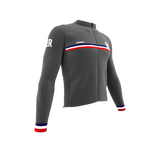 ScudoPro Pro Thermal Long Sleeve Cycling Jersey Country CODE Bermuda | Men and Women